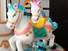 amusement park carousel musical rabbit surfing chair