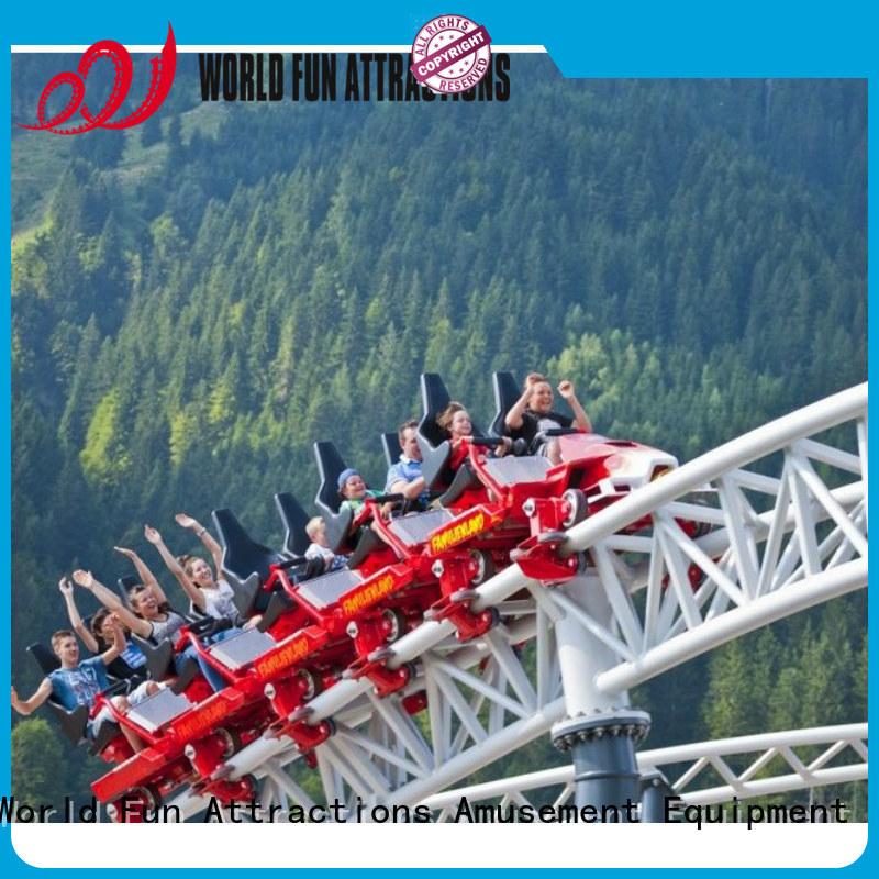 World Fun Attractions Brand crazy mini roller coaster for sale train naja