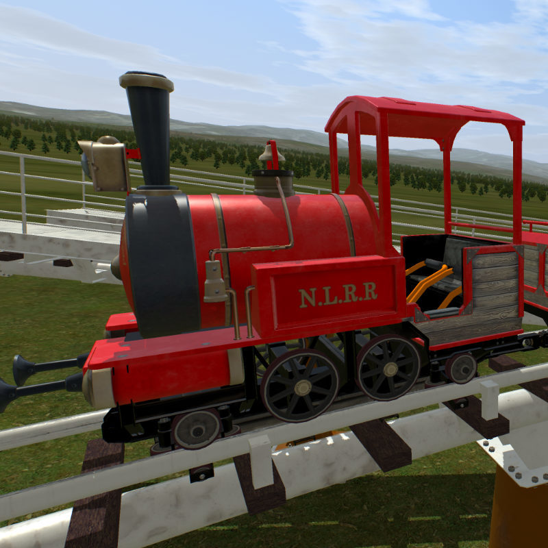 Roller Coaster Mine Train