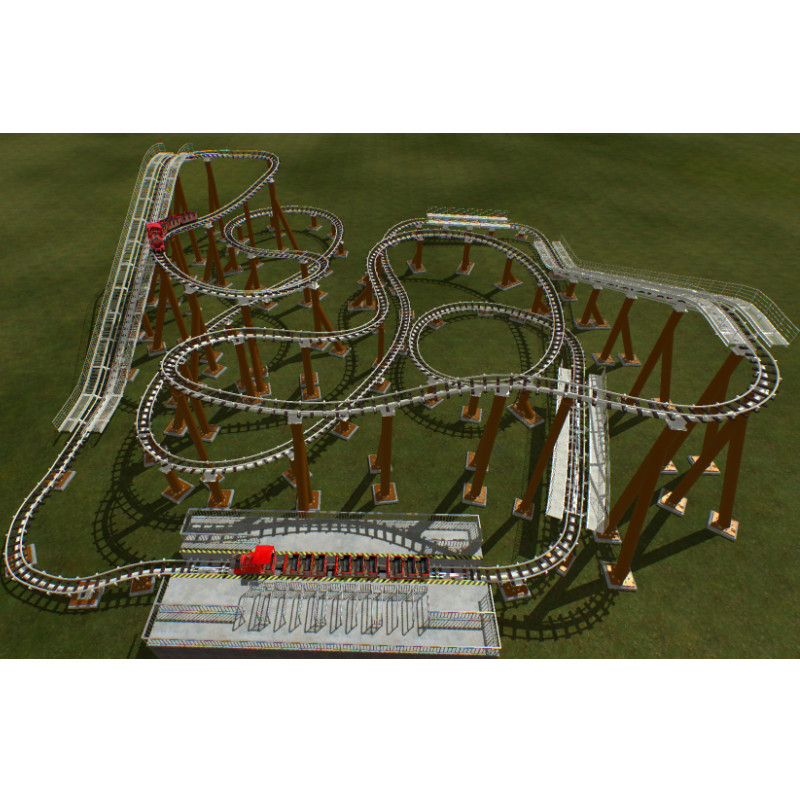 parachute f1 World Fun Attractions roller coaster for sale
