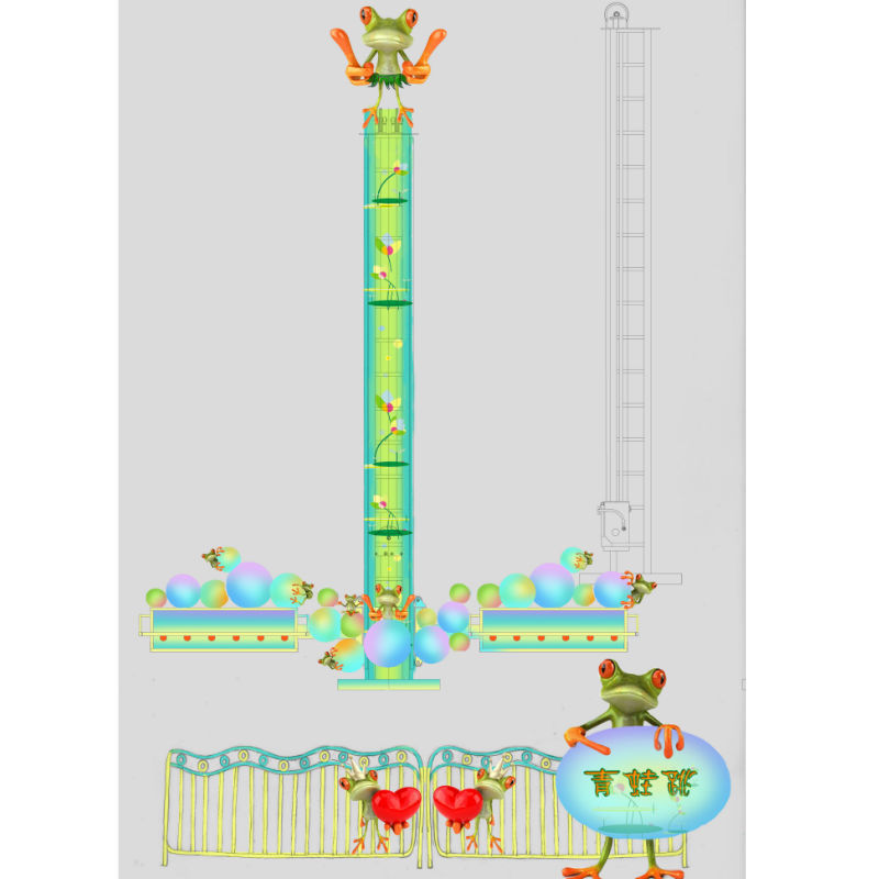 Frog Jumping Thrill Rides