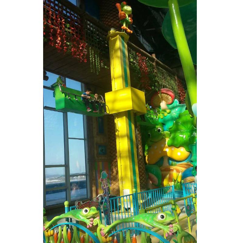 Frog Jumping Thrill Rides