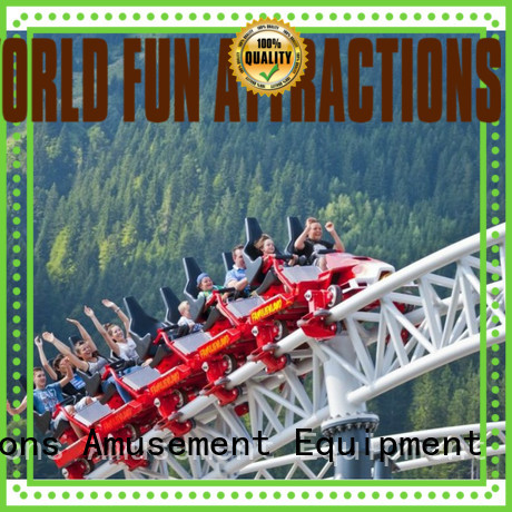 sightseeing mini roller coaster for sale crazy jumping World Fun Attractions Brand