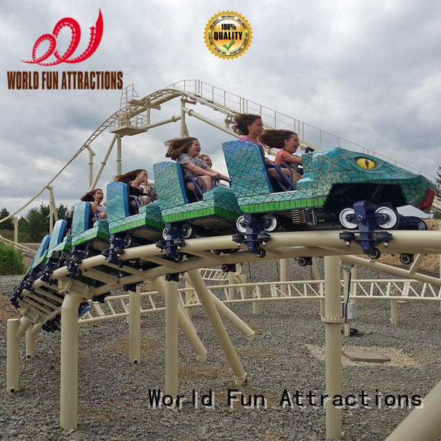 single sightseeing racing mini roller coaster for sale World Fun Attractions