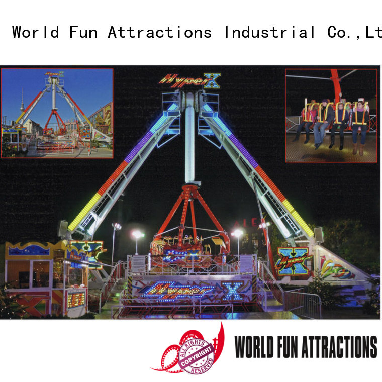 World Fun Attractions Brand hercules 24p giant roller coaster for sale
