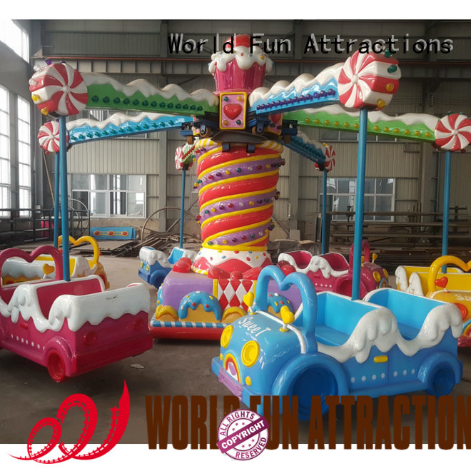 amusement park carousel cup swing ride tomjerry World Fun Attractions