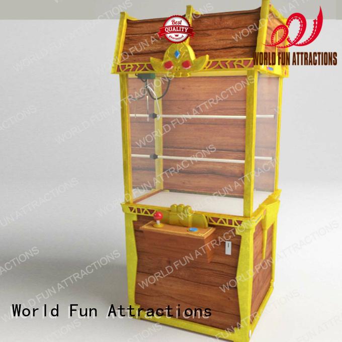 World Fun Attractions Brand chest claw arcade claw machine for sale crane toy