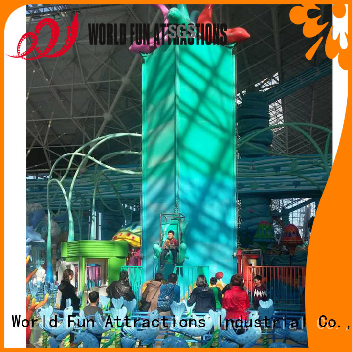 World Fun Attractions Brand samba mini roller coaster for sale flyer eight