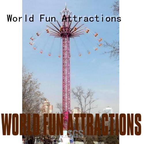 World Fun Attractions Brand bus train roller coaster for sale f1 single