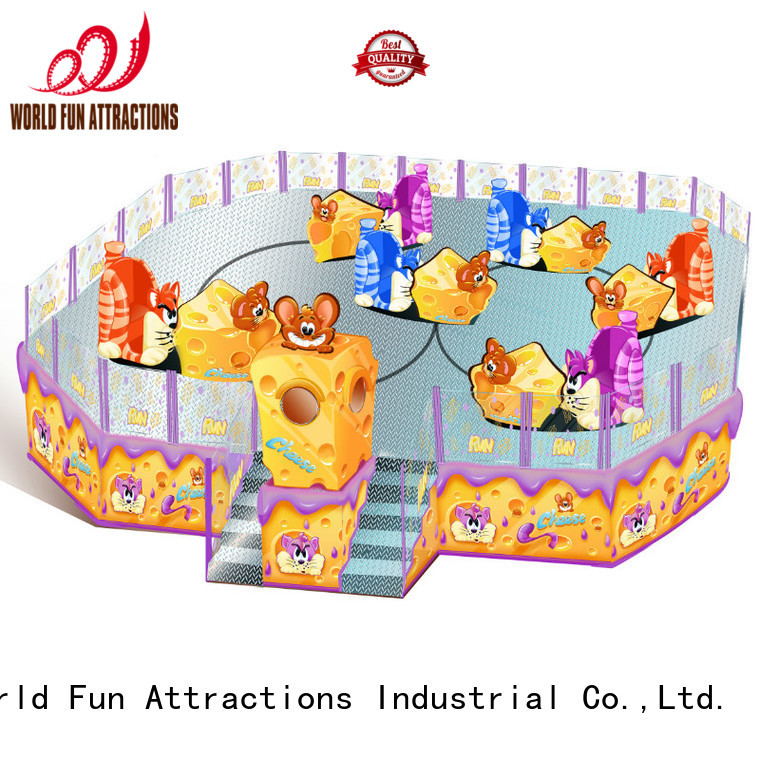 amusement park carousel gold swing ride World Fun Attractions