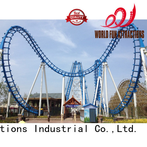 World Fun Attractions Brand coster roller bus roller coaster for sale