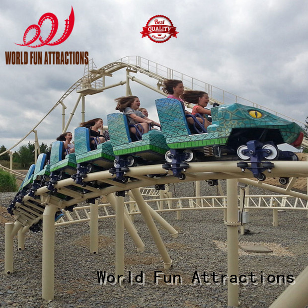 Quality mini roller coaster for sale World Fun Attractions Brand eight roller coaster for sale