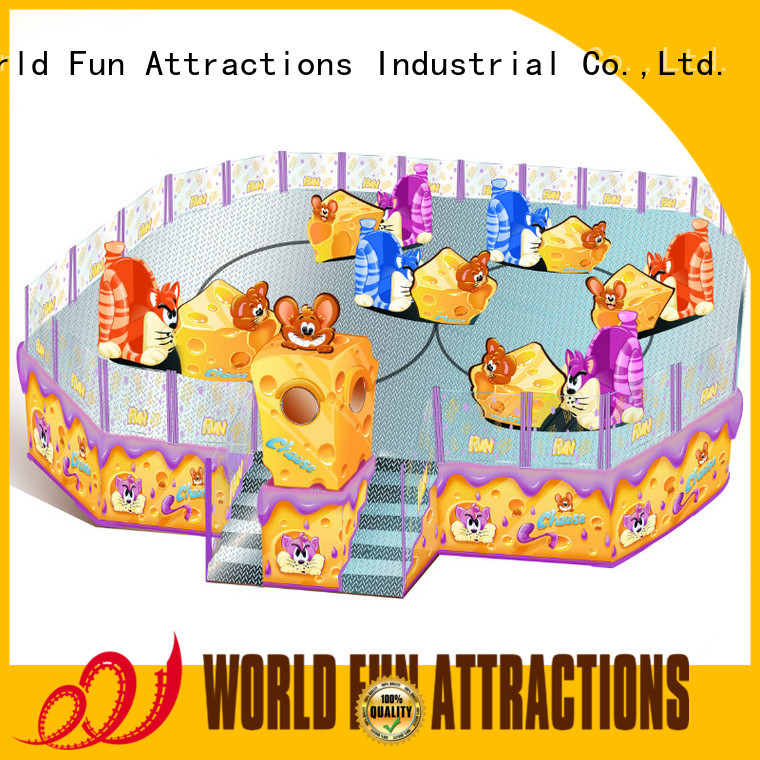 jungle dolphins passionate World Fun Attractions amusement park carousel