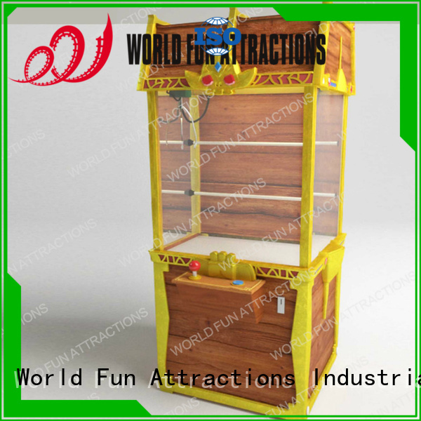 World Fun Attractions Brand toy arcade claw machine for sale claw chest