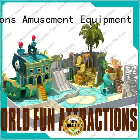 slide play World Fun Attractions indoor soft play