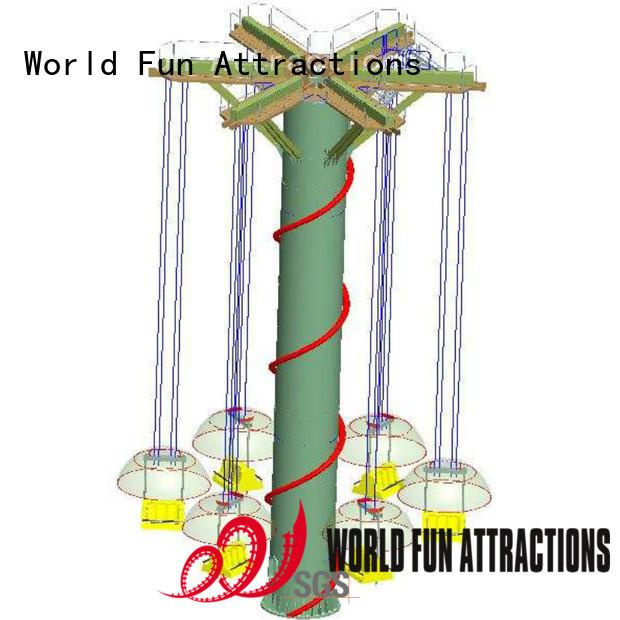 World Fun Attractions Brand flyer underwater exploration roller coaster for sale hercules