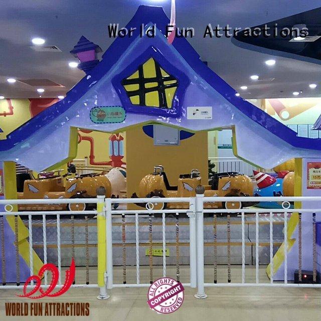 coaster county 12p mini train for kids World Fun Attractions