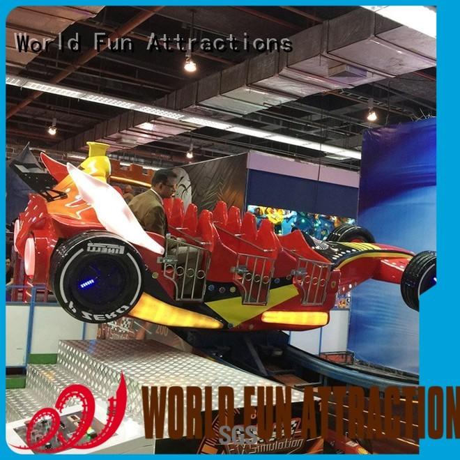 12p kids pirate ship car World Fun Attractions company