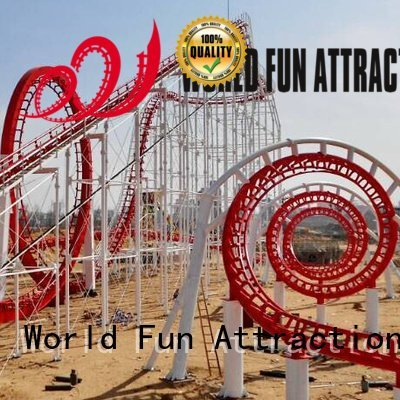 Wholesale f1 24p roller coaster for sale World Fun Attractions Brand