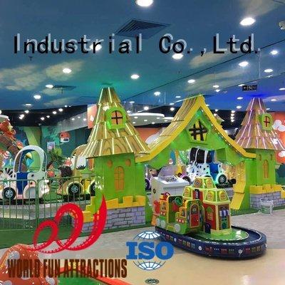 pumpkin coaster World Fun Attractions mini roller coaster