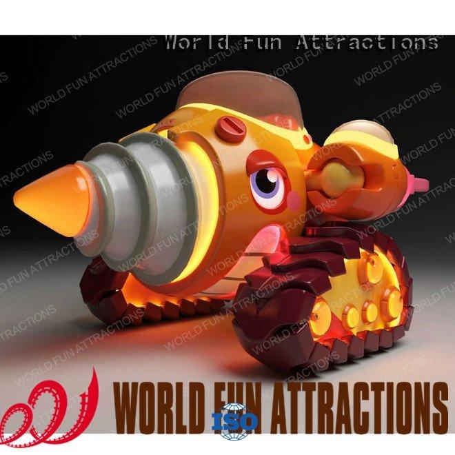 plane drill World Fun Attractions kiddie rides