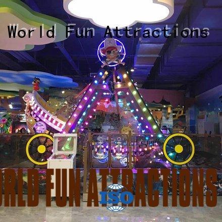 World Fun Attractions Brand chairshell pirate kids indoor amusement dragon car