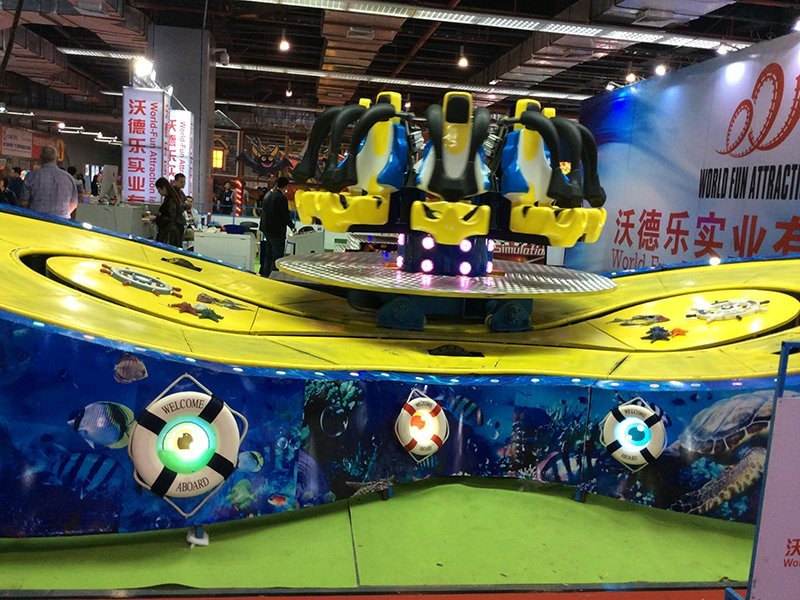 Racing Car Eight - Type Underwater Exploration XTREME RIDES