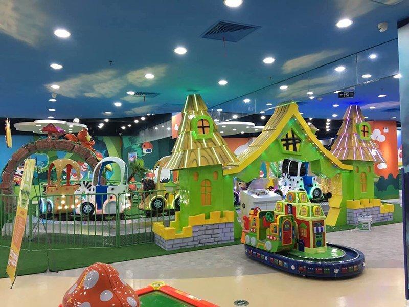 Roller Coaster Jungle Adventure Family Funfair Park