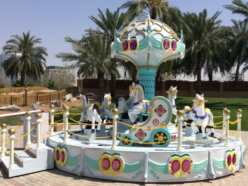 Carousel Cake 11P Indoor Outdoor Amusement Ride