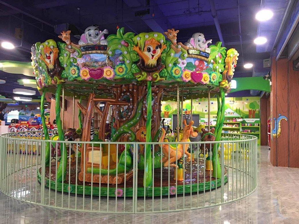 Hot amusement park carousel 12p swing ride cake World Fun Attractions