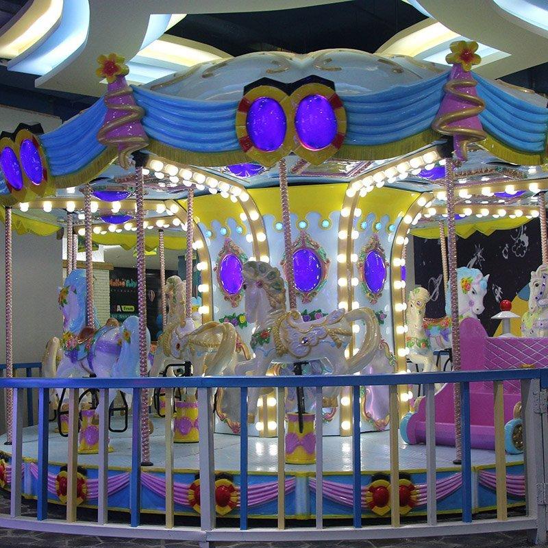 Carousel 12P European (Blue)