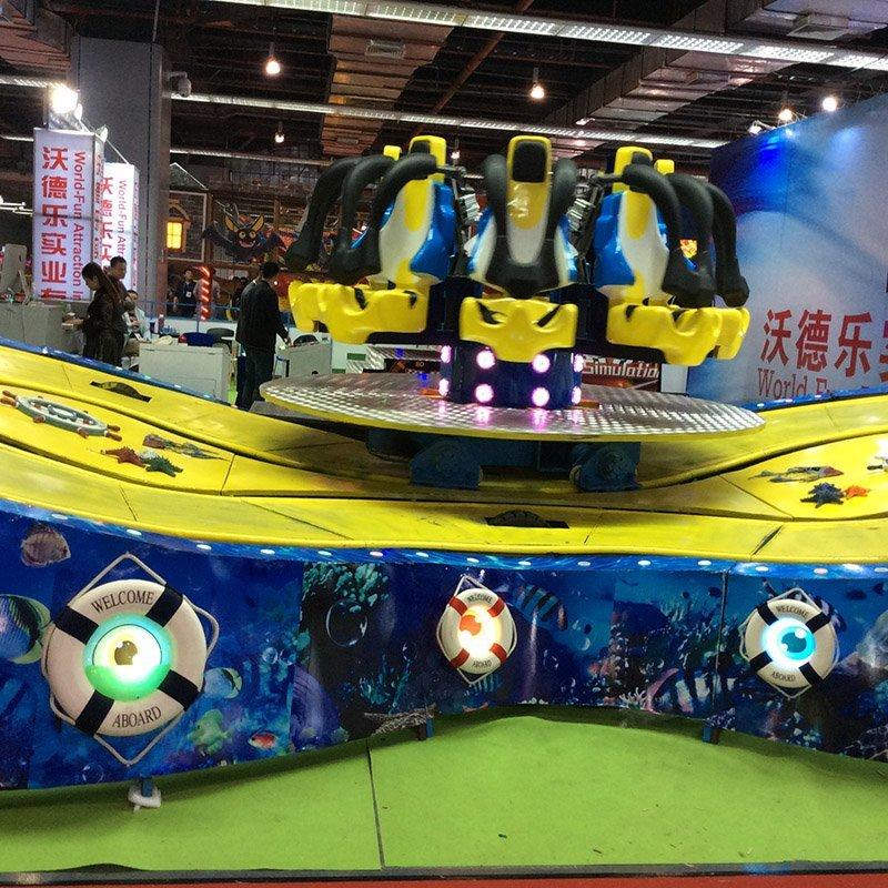 Racing Car Eight - type underwater exploration