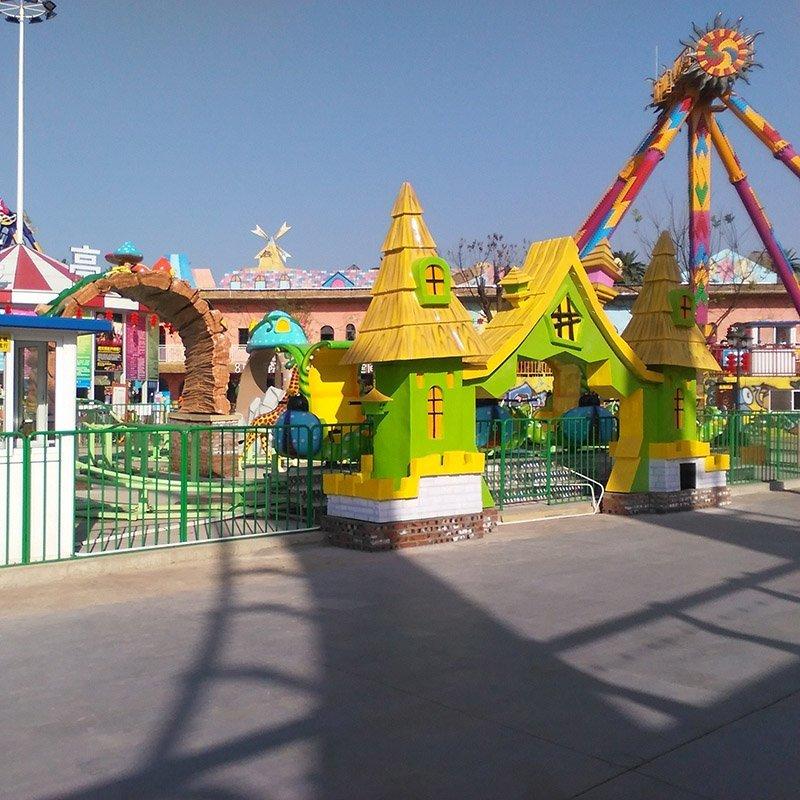 OEM mini train for kids spin roller tackle mini roller coaster