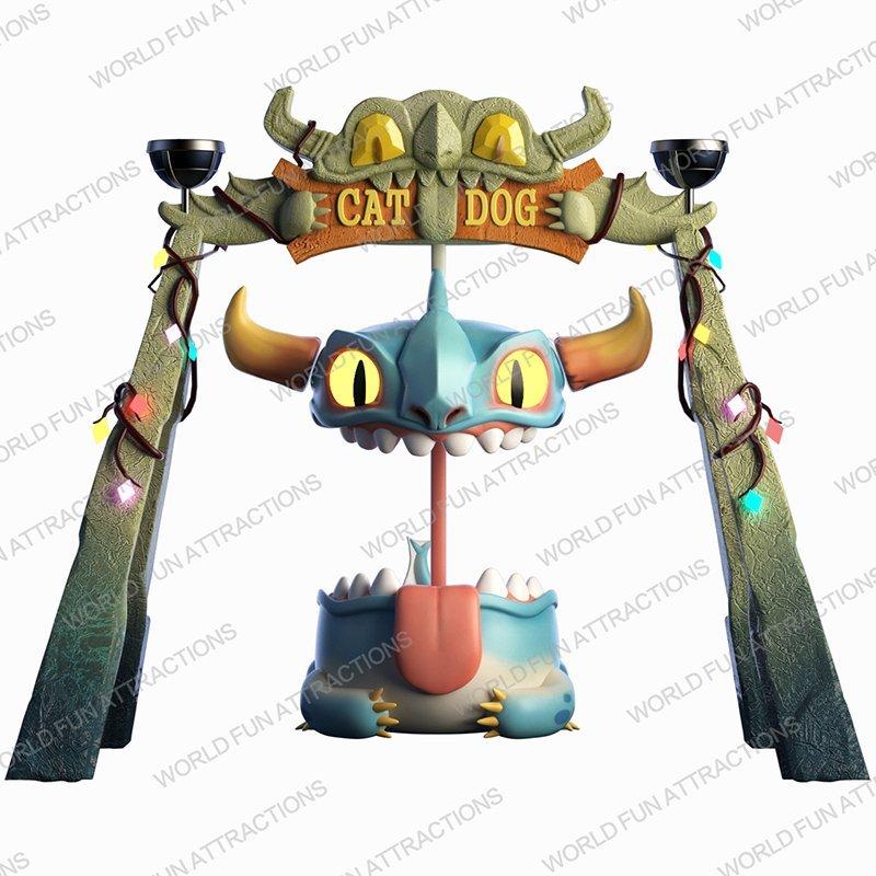 Pendulum Mini Greedy Dragon Frisbee