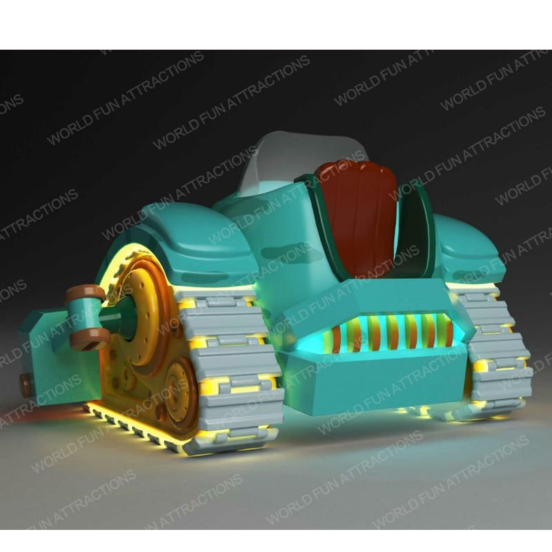 Kiddie Rides Pirate Tank