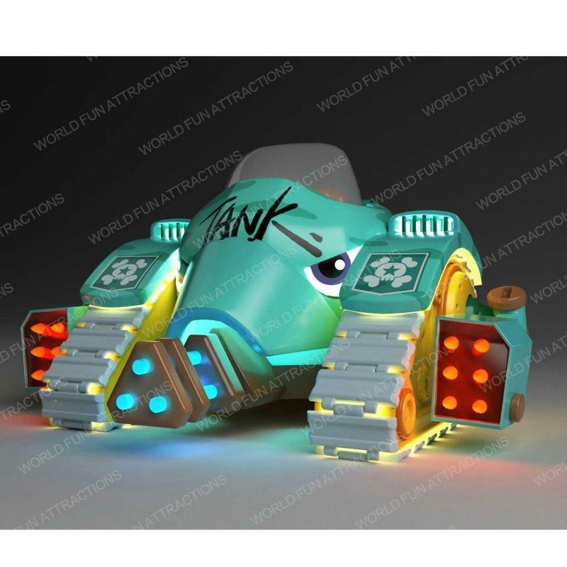 World Fun Attractions Brand tank rides submarine kiddie rides