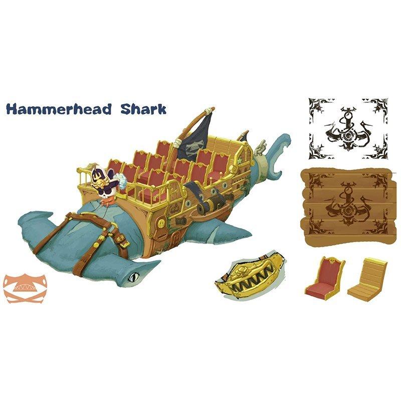 hammerhead pirate World Fun Attractions kids indoor amusement