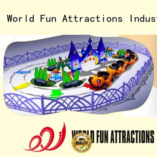 Hot mini train for kids journey swan halloween World Fun Attractions Brand