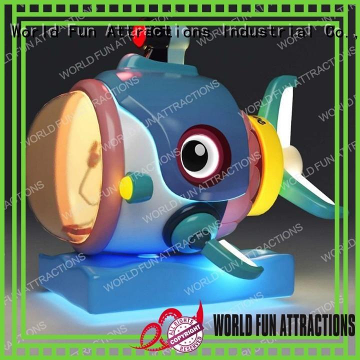 World Fun Attractions Brand drill rides pirate amusement kiddie rides