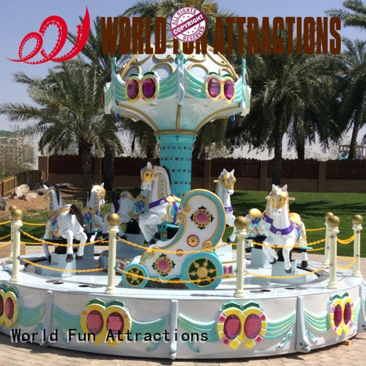 caribbean islandpirate jungle amusement park carousel World Fun Attractions