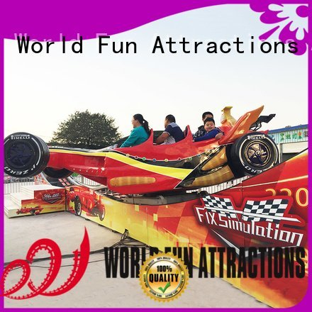 World Fun Attractions Brand free coster jumping roller coaster for sale thrill
