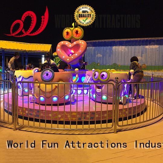 candy carouselpink swing ride flying World Fun Attractions