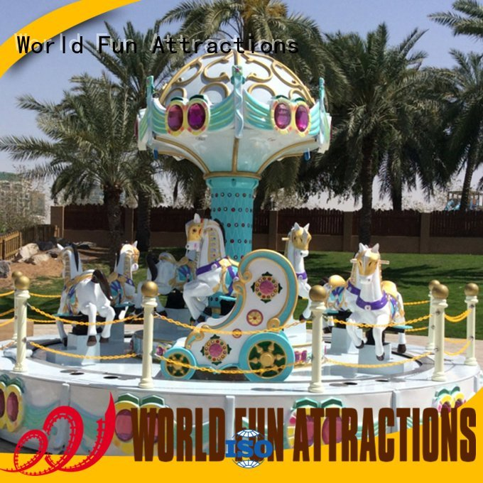 World Fun Attractions amusement park carousel american dance caribbeanislandpirate