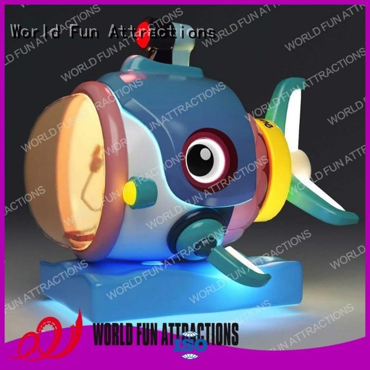 submarine amusement kiddie rides kiddie World Fun Attractions company