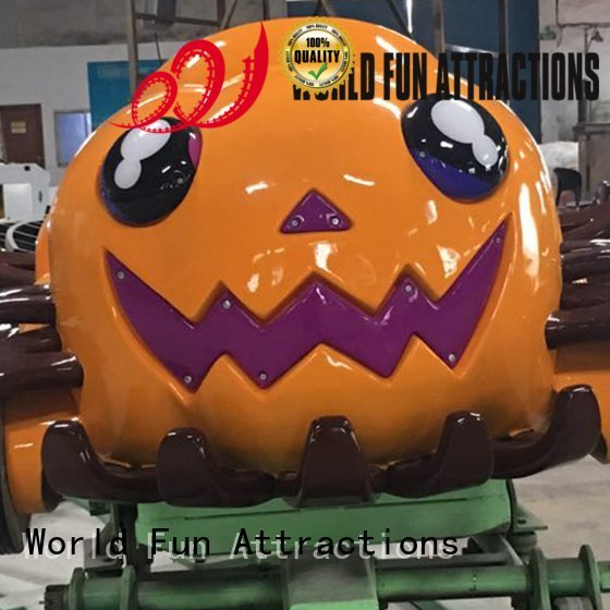 World Fun Attractions Brand coasterdesert flat tackle mini train for kids
