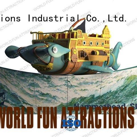 shark hammerhead childrens kids indoor amusement World Fun Attractions