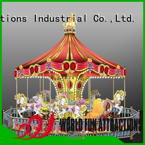 World Fun Attractions Brand dance passionate european amusement park carousel