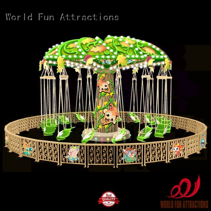 tomjerry gold swing caribbeanislandpirate World Fun Attractions amusement park carousel
