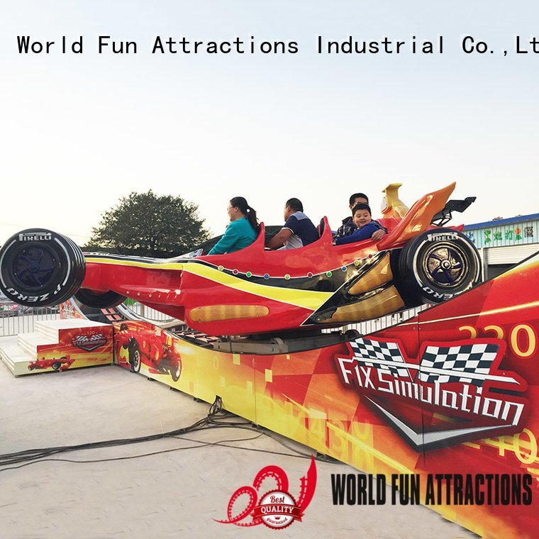 World Fun Attractions Brand bungee coaster f1 mini roller coaster for sale