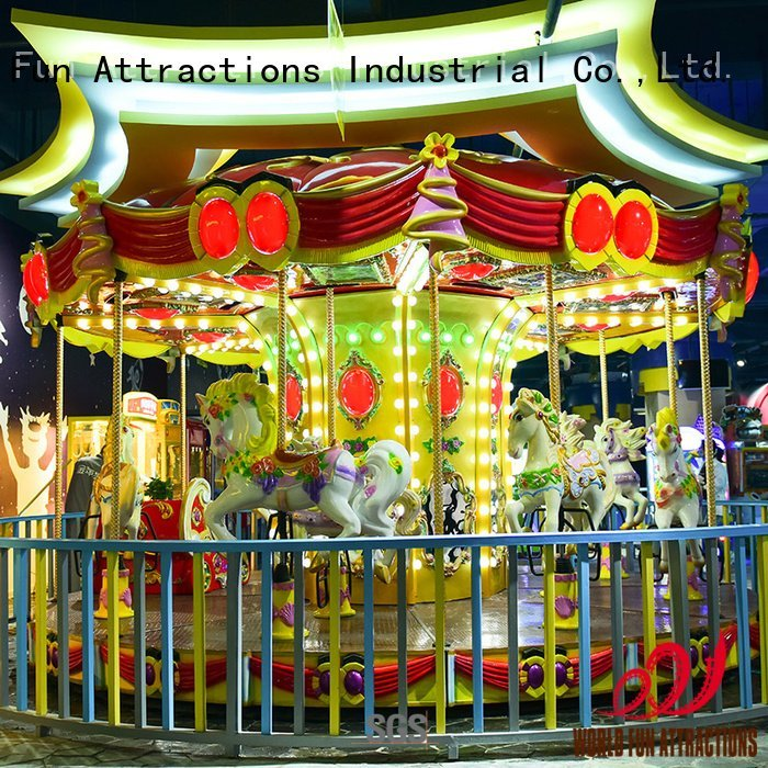 rabbit jungle carouselblue amusement park carousel World Fun Attractions